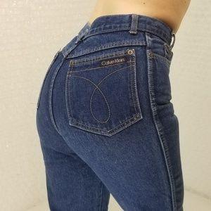 Calvin Klein Vintage 1990s high waist jeans